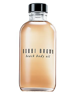 Want the smell of summer and a sexy glow?  Bobbi Brown nails it with her beach body oil. #bobbibrown