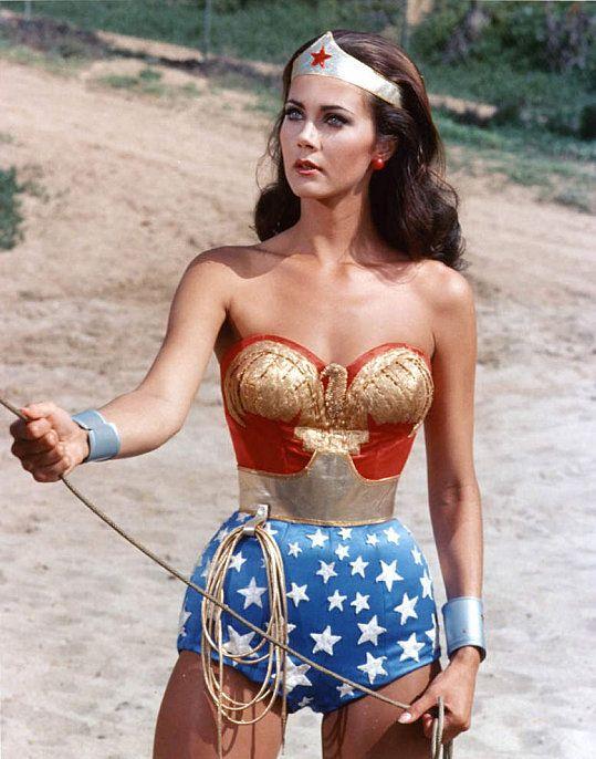 Linda Carter - I loved Wonder Woman!!! Linda Carter was my idol!!