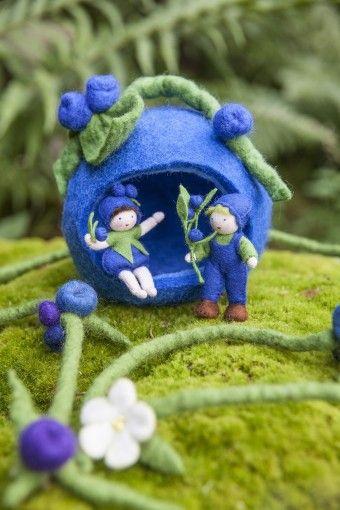 Blaubeerfreunde: Ideen für den #Jahreszeitentisch #diy