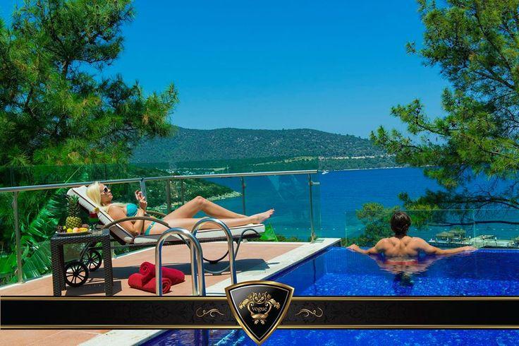 Where Elegance Meets Luxury. / Zerafet Lüks İle Buluşuyor. #Vogue #Hotel #Bodrum