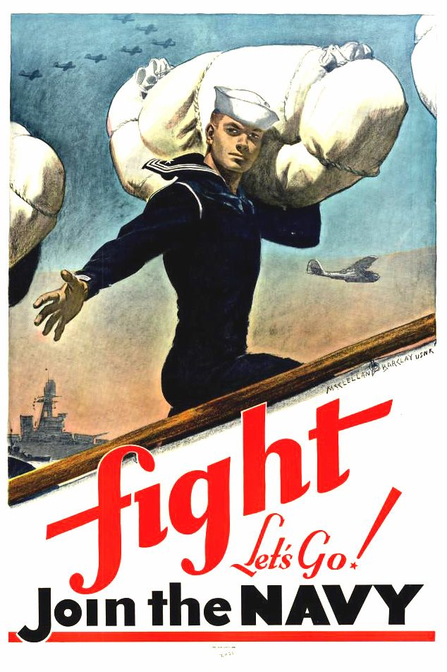 Join the Navy #WWII