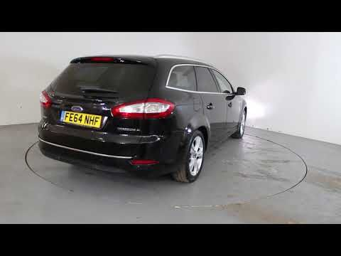 FORD MONDEO 2.0 TDCI TITANIUM X BUSINESS EDITION - Air Conditioning - Alloy Wheels - Bluetooth - Cruise Control - Full Leather Interior - Spare Key ...