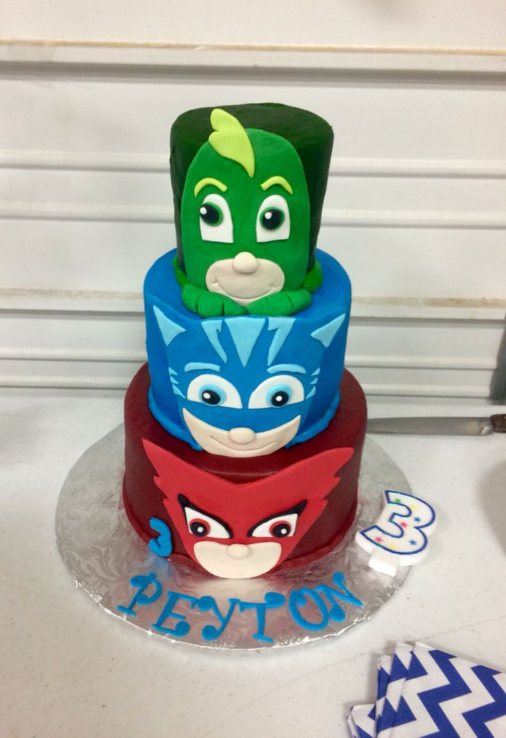 108 Best Images About Pj Masks 4th Birthday On Pinterest