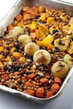 Roasted Vegetables for Rosh Hashanah Recipe Details | Recipe database | washingtonpost.com