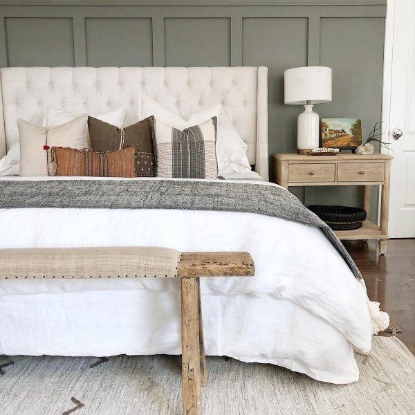 85 Charming Rustic Bedroom Ideas And Designs 4 In 2020: Rustic Bedroom Design, Bedroom