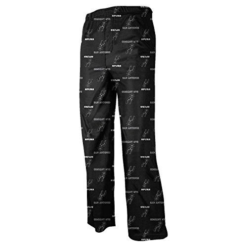 San Antonio Spurs Youth NBA Team Logo Pajama Pants  https://allstarsportsfan.com/product/san-antonio-spurs-youth-nba-team-logo-pajama-pants/  Elastic waistband Made by Outerstuff All over printed graphics