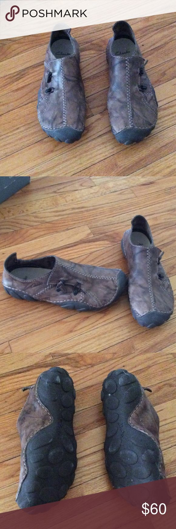 Men's clarks shoe. Brown. Excellent/ like new condition. Clarks Shoes Loafers & Slip-Ons
