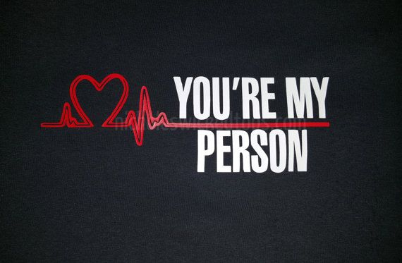 Grey's Anatomy inspired T-shirt, You're my person, it's a beautiful day to save lives, best friends, shirts, couples