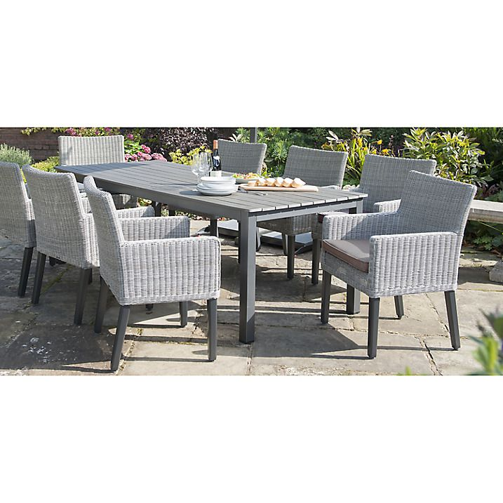 buy kettler bretagne outdoor dining chair white wash online at johnlewiscom