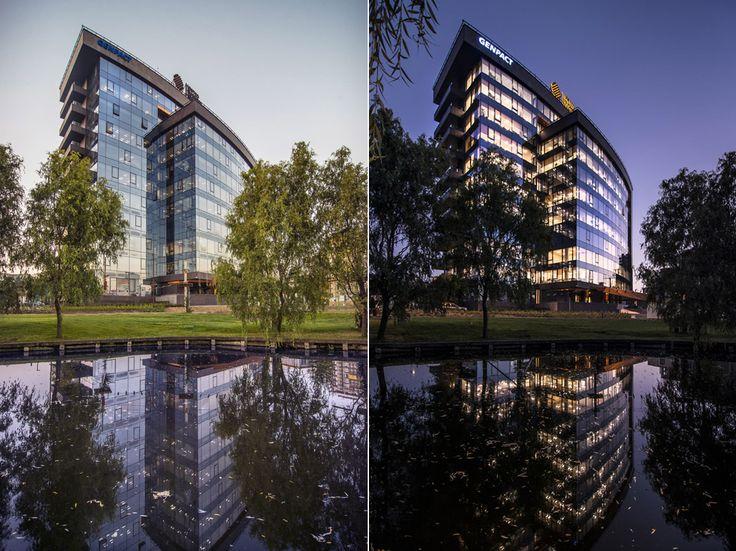 arhitectura in Romania. United Business Center Cluj-Napoca