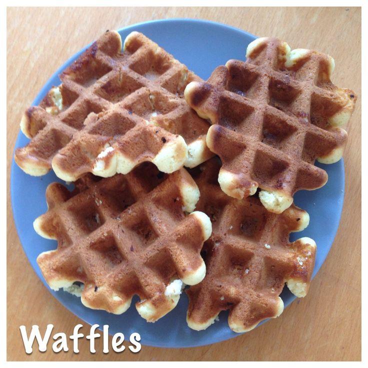 Wafels, zelfrijzend bakmeel, recept, recipe