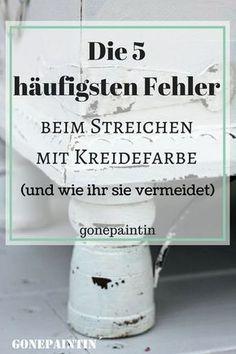 Weihnachtliches DIY Schild mit Kreidefarbe – Birgit Weißhaar