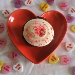Red Velvet Cupcakes for 2