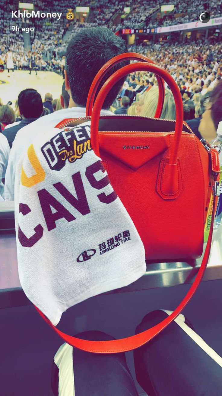 Khloe Kardashian in Cavs game
