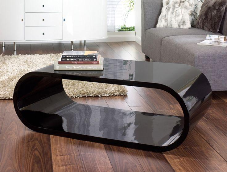 modern black glass coffee table Craftsman Compact