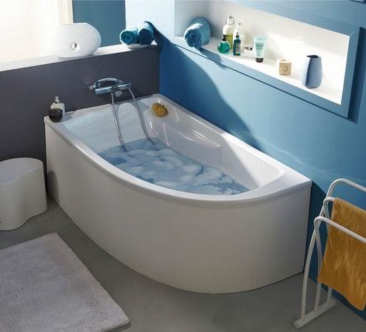 Les 25 meilleures id es concernant baignoire 160 sur for Salle de bain 5m2 baignoire