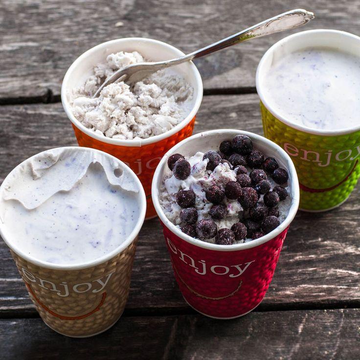 Hemgjord glass utan maskin