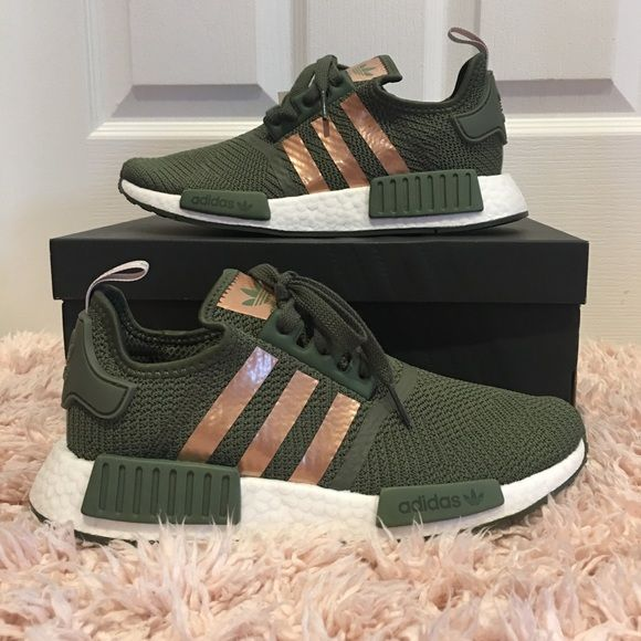 Women's adidas NMD R1 Olive/ Copper