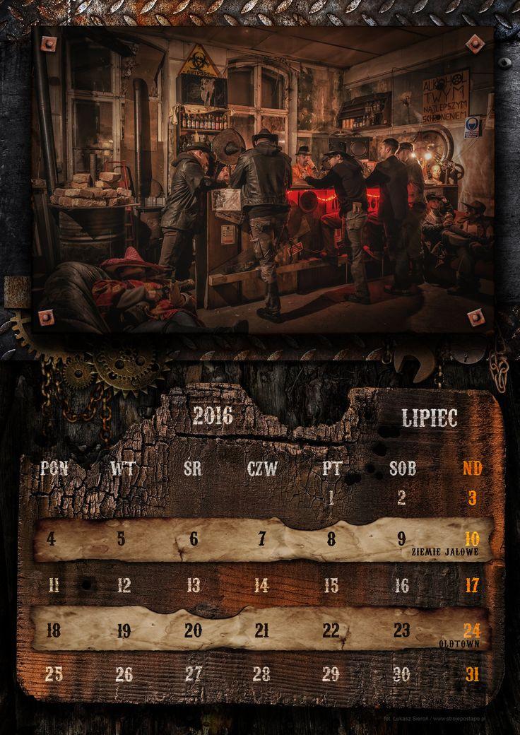 Postapocalyptic calendar 2016 by Annex93.deviantart.com on @DeviantArt
