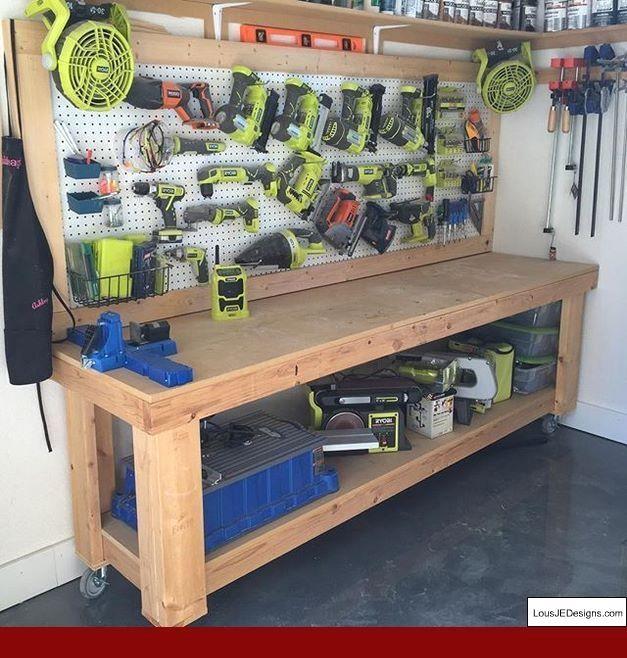 16+ Awe-Inspiring Wood Working Bench Decks Ideas