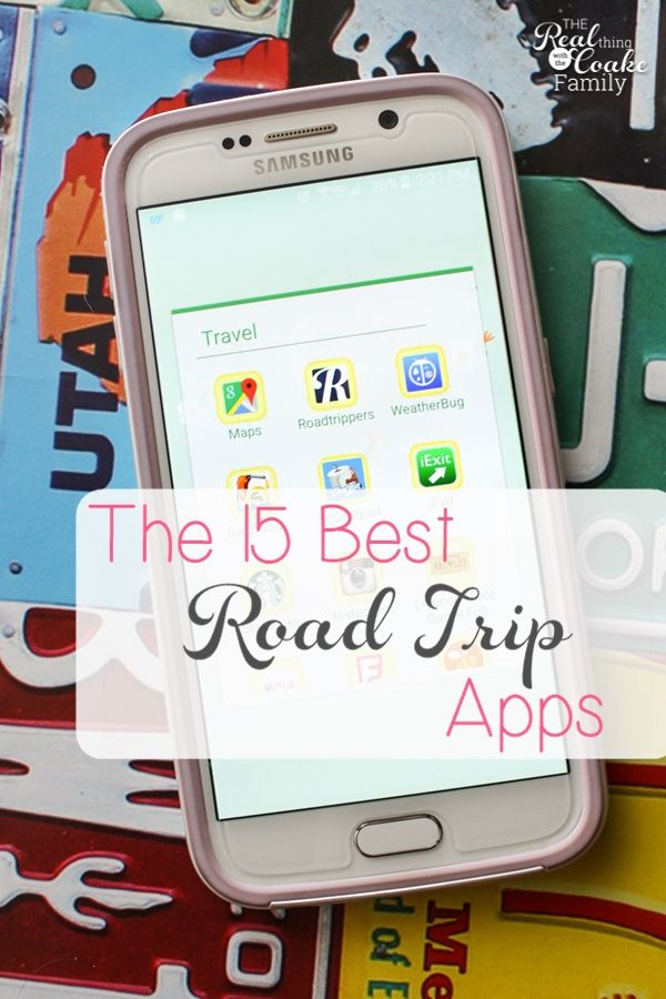These are the 15 best apps to use for a successful road trip! I've used almost all of these and they really help make the travel a bit more smooth and fun. Perfect for our summer road trip with the kids.