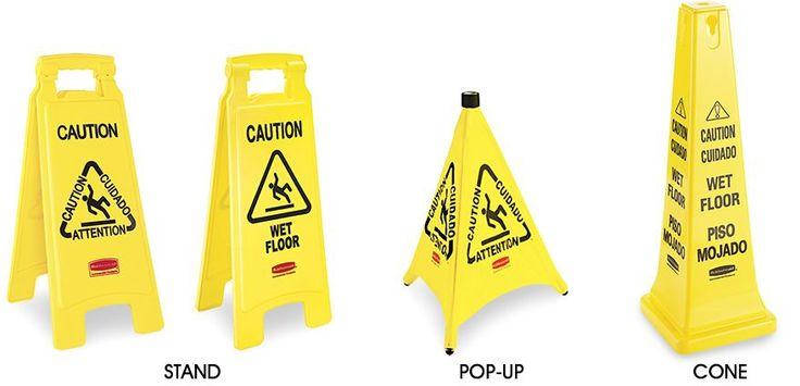 Wet Floor Signs, Wet Floor Sign in Stock - ULINE