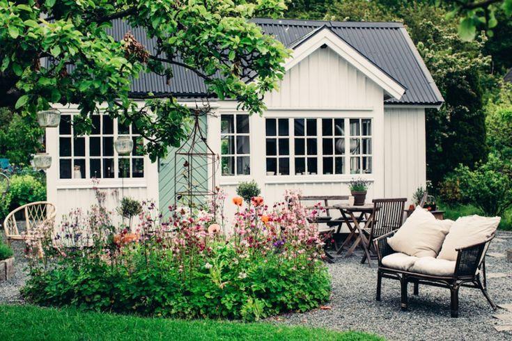 Ogródek działkowy Elin Lannsjö - JagaDesign