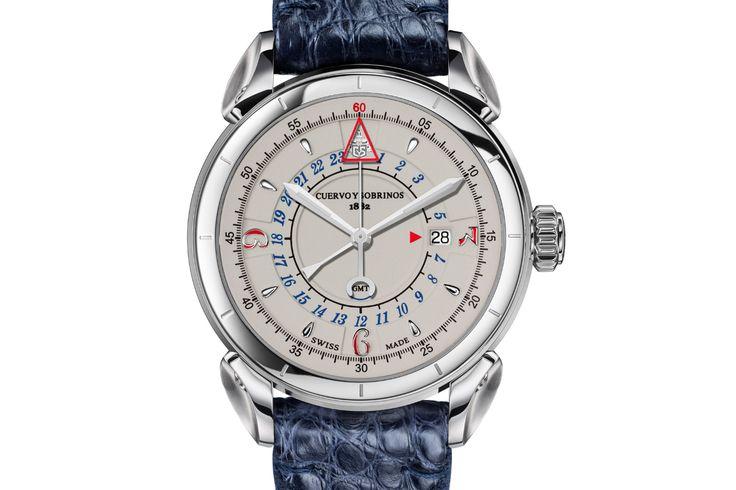Cuervo y Sobrinos presents the arrival of the Historiador Vuelo watch collection