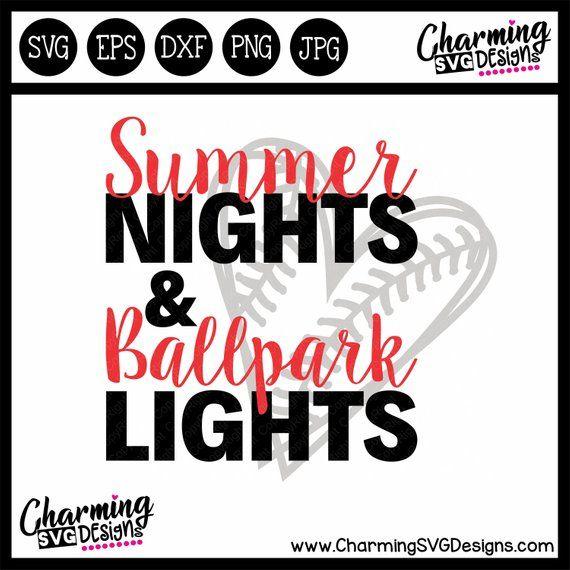 2b61634e9f0c Summer Nights Ballpark Lights SVG