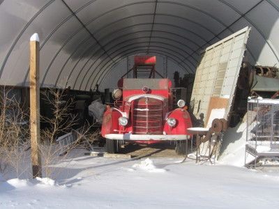 why antiques: Classic 1952 Ford Fire Truck Sale Oxford York765051