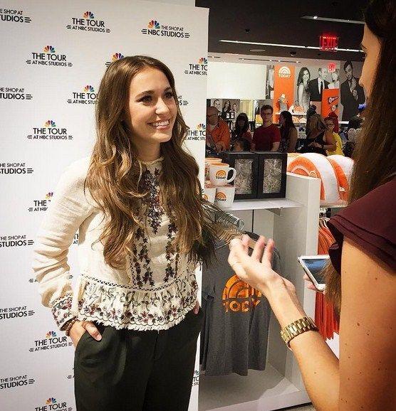 Lauren Daigle 8/2/16 The Shop at NBC, TODAY Show #laurendaigle