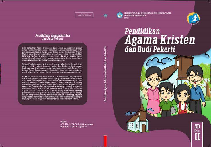 Download Gratis Buku Siswa Pendidikan Agama Kristen dan Budi Pekerti Kelas 2 SD Kurikulum 2013 Format PDF