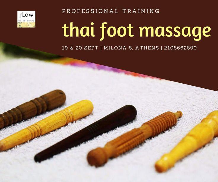 Σεμινάριο Thai Foot Massage | FLOW, Αθήνα | Σε τιμή προσφοράς και με πιστοποίηση.