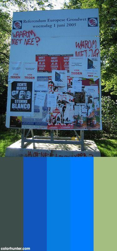 Referendum Bord Color Scheme