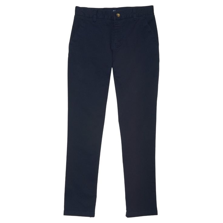Boys' French Toast Slim Fit Chino Pants - Navy (Blue) 16, Boy's