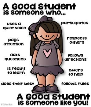 good students A good student will realize this and will utilize his or her good work habits to his or her advantage following instructions is an important skill for a student to master a competent student knows that following directions helps favor him in the eyes of the teacher.