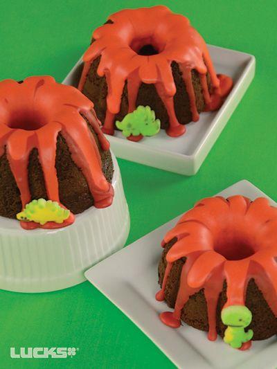 Dino Bundt Cakes                                                                                                                                                     More