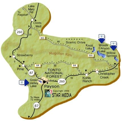 55 best The Mogollon Rim Fossil Creek  Hells Gate Wilderness