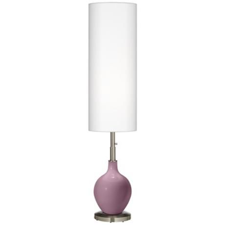 Plum Dandy Ovo Floor Lamp  Lamps Plus has all sorts of purple floor lamps ... for my side of the bed