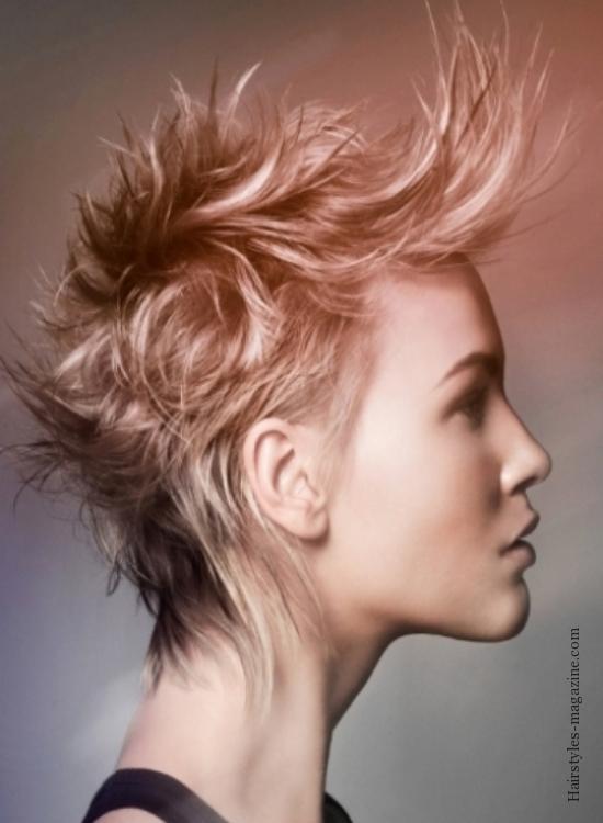 Frisuren kurz punkig