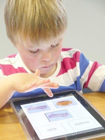 Aplicación galardonada para niños con problemas de aprendizaje:
