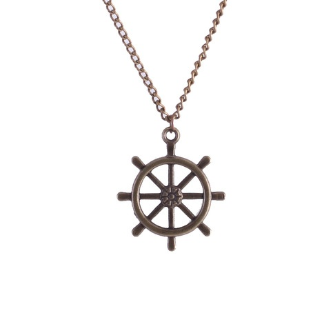 Another one of my favorite necklaces the always classic captain's wheel :)