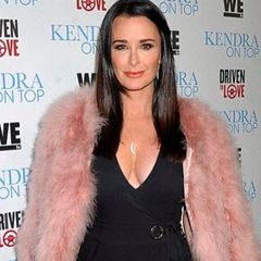 Real Housewife, Kyle Richards: Mezzaluna Necklace