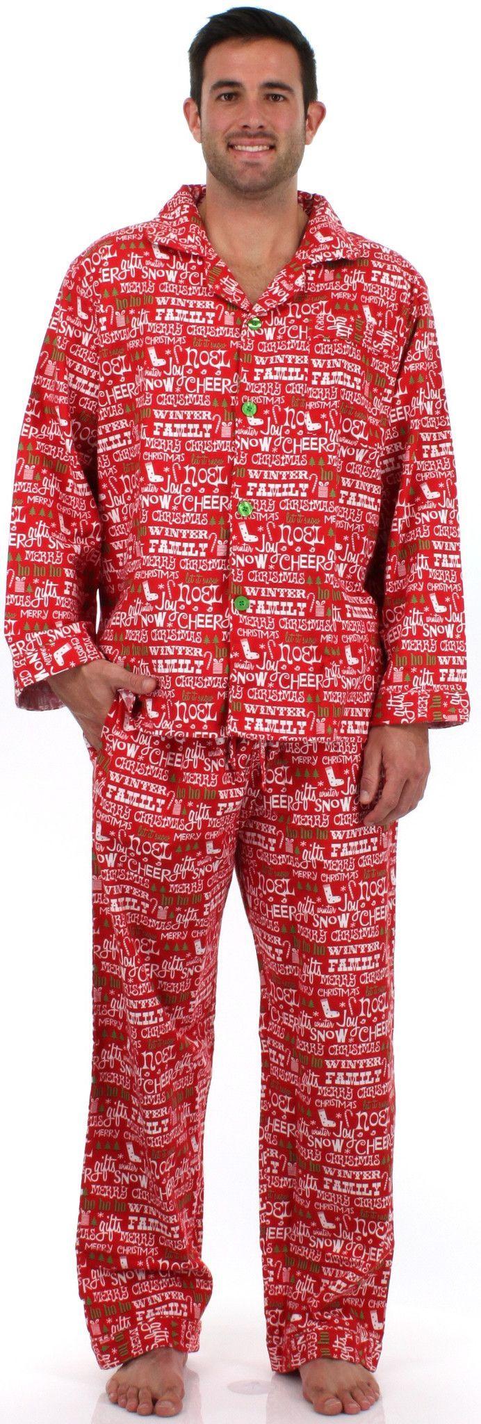 SleepytimePjs Men's Flannel Pajamas