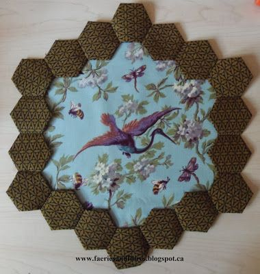 Faeries and Fibres: English Paper Piecing Instructions & Hexagon Fun
