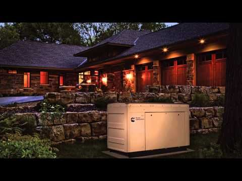 """Cummins Power Generation """"National Treasures"""" Residential Commercial - YouTube"""