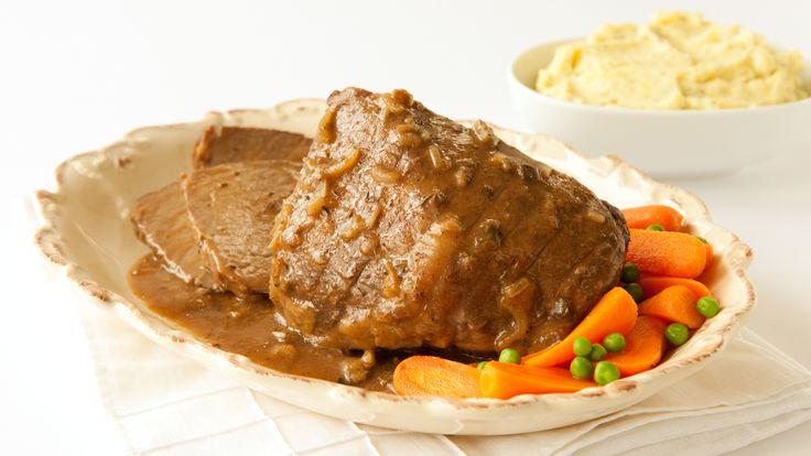 Slow Cooker Savoury Beef Pot Roast