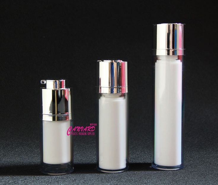 Twist up airless pump bottle, 15ml,30ml,50ml.