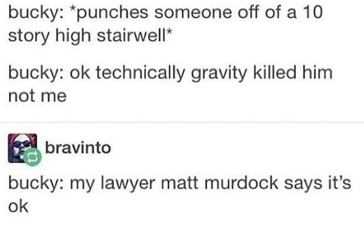 #technically #stairwell #someone #murdock #punches