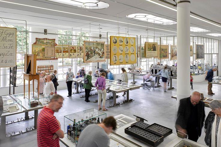 Onderwijsmuseum Dordrecht - Bierman Henket interieur